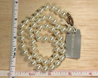 """Vintage Pearl 17"""" Necklace Worthington Used"""