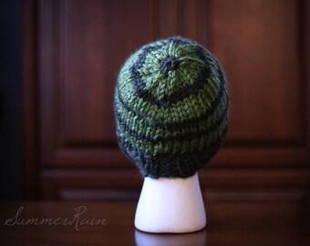 Chunky Wool Knit Cap