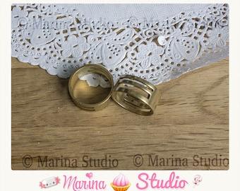 Ring open n15646 hoop earrings