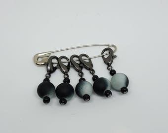 Removable Stitch Markers - Serenity