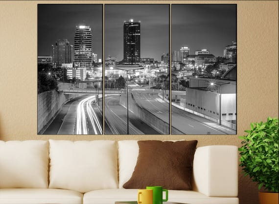 Knoxville, Tennessee skyline canvas wall art  Knoxville canvas wall art art Knoxville wall decoration Knoxville large canvas wall art
