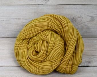 Aspen Sport - Hand Dyed Superwash Merino Wool Sport Yarn - Colorway: Honeycomb