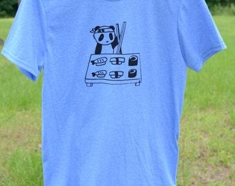 Panda Making Sushi Tshirt