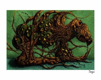 Humanoid octopus