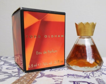 Todd Oldham eau de parfum miniature bottle, new in box, eau de parfum 6.5 ml / 0.2 fl. oz.