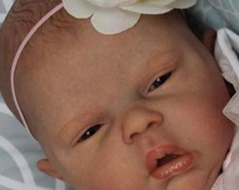 Custom Reborn Baby Elyse by Cassie Brace Sold Out LE 597/970, 22 inches Boy OR Girl w/ Belly Plate