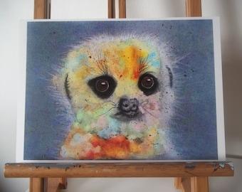 Meerkat Artwork Print