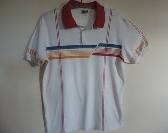 Vintage Jantzen Polo Shirt Mid Century Jantzen T shirt Men's Golf Shirt Sports Wear