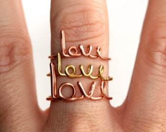 Love Ring * St Valentine * Wife Gift * Romantic Gifts * Saint Valentine * Valentines Gift * Gift for Wife * Love Jewelry * Girlfriend Gift