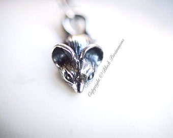 Little Mouse Necklace - Sterling Silver Year of the Rat Charm - Insurance Included