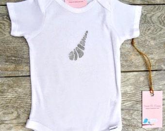Children - Sea Shell - Beach - Ocean Toddler T-Shirt or Baby Onesie