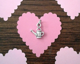 SALE - Sterling Silver Watering Can Charms