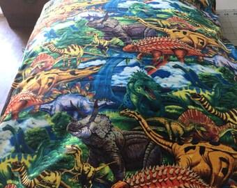 Pillowcase dinosaurs