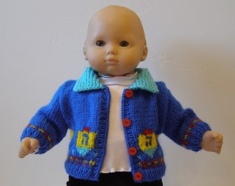 Bitty Baby Hanukkah Sweater