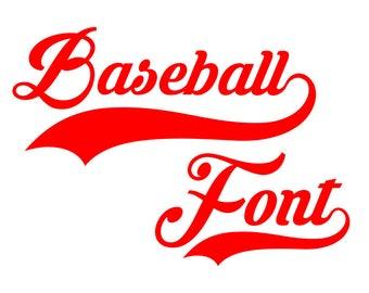 Baseball font svg, baseball letters svg, softball font svg, baseball svg, softball svg, baseball monogram svg, sport letters svg, alphabet