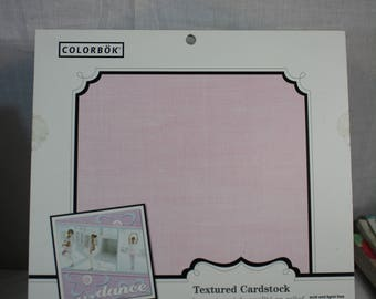 Colorbok 30 12x12 Textured Cardstock Soft Pastels