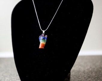 Chakra Angel Pendant/ Chakra Necklace