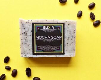 Soap - Mocha Soap - Vegan Soap - Homemade Soap - Vanilla Coffee Soap - Coffee Soap - Bath Soap - Soap Gift - Bar Soap - Soap Bars