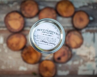 CHESTNUT BROWN SUGAR Soy Candle-Non-Toxic-Eco-Friendly-Renewable
