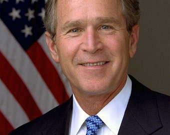 George W. Bush image 8 1/2 x 11 8 x 10 image