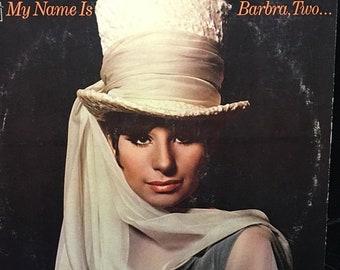Vintage Barbara Striesand album