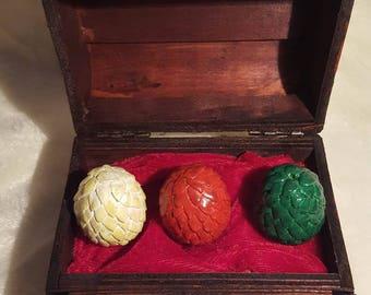 Juego de Tronos Mini Cofre huevos de dragón