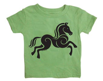 Horse - Baby T-shirt -12 or 24 months