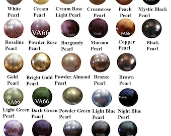 50p 5810 4mm Swarovski Pearls U Pick Color Pearl Beads Loose Beads Pearl 27 Color choices Jewelry making