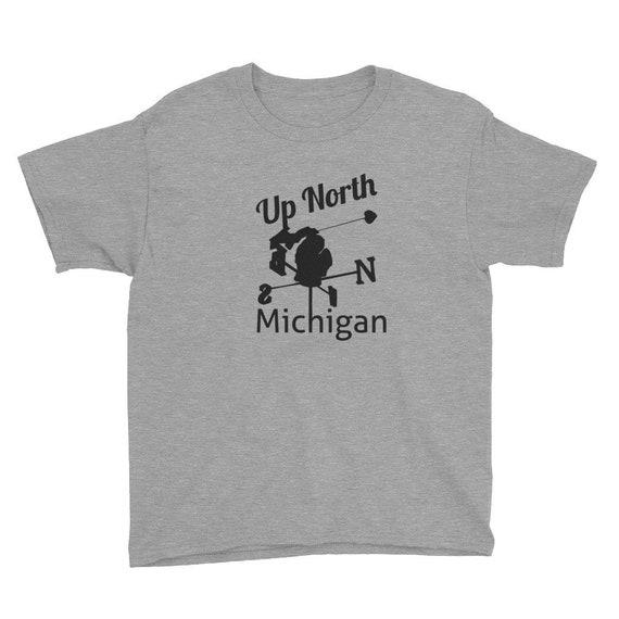 Up Noth Michigan Youth Short Sleeve T-Shirt