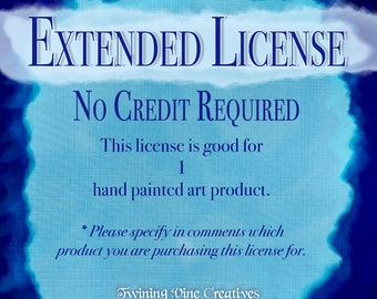 Extended License - No Credit Required - 1 Product