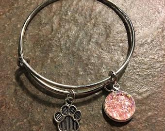 Children's Custom Adjustable Bangle Bracelet, Kids Bracelet, Kids Bangle Bracelet, Emoji Bracelet, Adjustable Bracelet