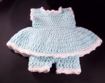 5 Piece Out Fit For 20 inch Lil' Baby Doll - Pale Green - FREE SHIPPING