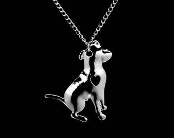 Pitbull Necklace, Personalized Gift, Pit bull Necklace, Dog Lover Gift, Pet Jewelry, Dog Necklace, Pet Necklace, Dog Jewelry, Pet Loss Gift