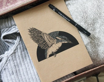 A5 'Kingfisher' Illustrated Notepad