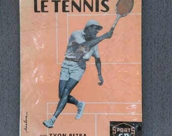 Book 'The Tennis' Yvon PETRA circa 1973