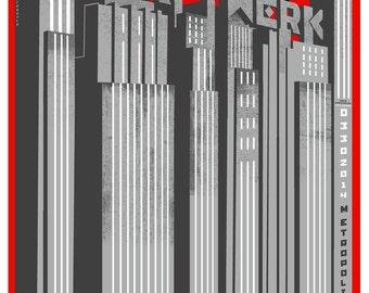 Kraftwerk - 18 x 24 Limited Edition Screenprint.