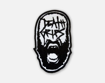 Death Grips embroidered patch  experimental hip hop band