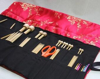 Knitting Needle Case PDF Pattern by Skadoot on Etsy