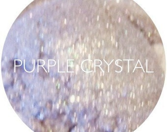 Purple Crystal Mineral Eyeshadow • Vegan And Gluten Free Mineral Eye Shadow • Natural Makeup • Earth Mineral Cosmetics
