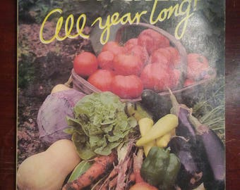 Fresh Food, Dirt Cheap All Year Long!  Vintage Paperback Book used