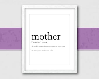 Mothers Day Print | Mothers Day Gift | Gift for Mom | Mothers Day | Gift for Mother | Mom Gift | Mothers Day Art | Home Decor