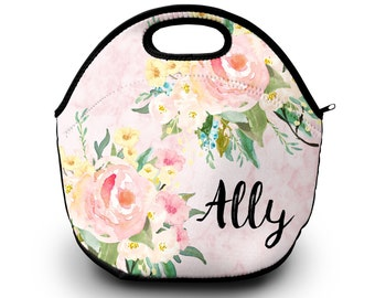 Lunch Bag for Women   Monogrammed   Lunch Bag   Gift for Her Lunch Bag for Women