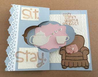 Get Well Card, Stay Cozy!