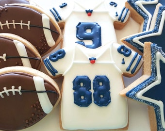 Dallas Cowboy Football  Cookies