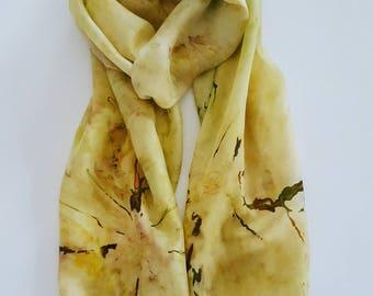 Stole vintage pure silk