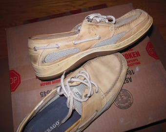 Sebago Boat Shoes 10.5 Med