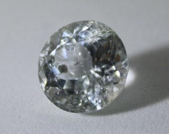 Kunzite 7.00ct,Round,February Birthstone,Si Clarity,Lithium Silicate,Spodumene,Unheated and Untreated Kunzite