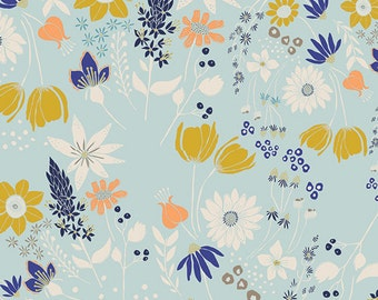 Gramercy Central Park in Breeze, Leah Duncan, Art Gallery Fabrics, 100% Cotton Fabric, GRA-3500