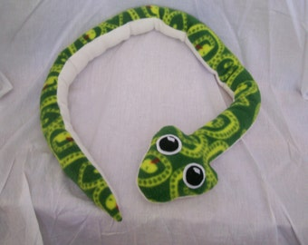 Customizable Snake Plush - choose your own colors and patterns