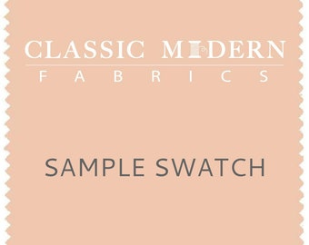 Sample Swatch Only | Chenille Jacquard Fabric